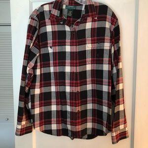 Ralph Lauren women's flannel shirt